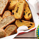 Almond Cherry Biscotti with Citrus